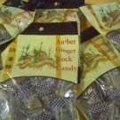 GT-Amber Ginger Rock Candy Packs of 5