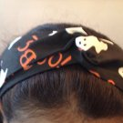 Handmade Cotton Twisted Head With Halloween Prints