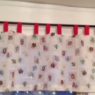 "Kitchen Curtain Valance New Custom Made Tab Tops 60"""