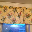 Handmade Beautiful Floral Bright Color Valance