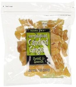 Trader Joe's Uncrystallized Candied Ginger x 2 Packs
