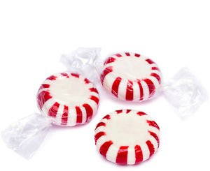 Peppermint Starlight Mints 5LB Bag