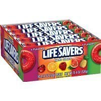 LifeSavers 5 Flavor Hard Candy, 1.14-Ounce Rolls (Pack of 60)