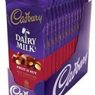 Cadbury Premium Milk Chocolate with Fruit and Nuts, 3.5-Ounce Bars (Pack of 14)