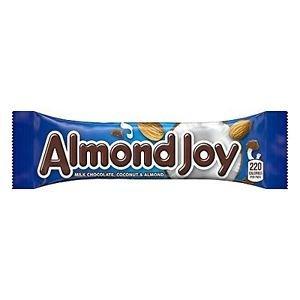 Almond Joy Candy Bar, 1.61-Ounce Bars (Pack of 36)