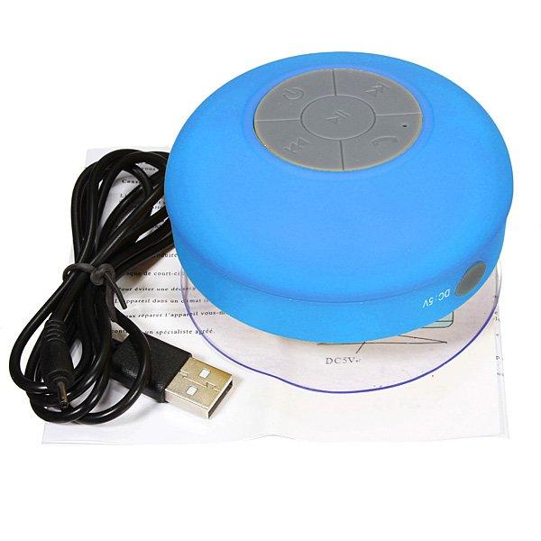 Mini Waterproof Wireless Bluetooth Speaker For iPad Smartphone Device
