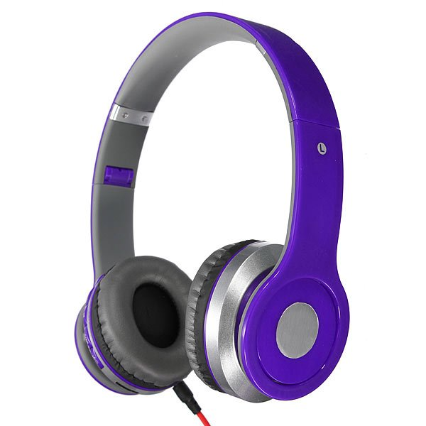 Foldable Bluetooth Headset Headphone For iPhone Smartphone Device