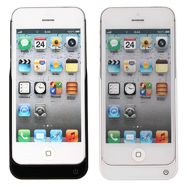 4200mAh External Battery Backup Charger Case For iPhone 5 5s 5c