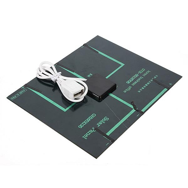 3.5W Solar Panel USB Battery Charger For iPhone Smartphone Device