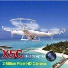 Syma X5C Explorers New Version RC Quadcopter Mode 2 With Camera