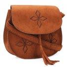 Female Hand-embroidered Tassel Retro Small Shoulder Bag