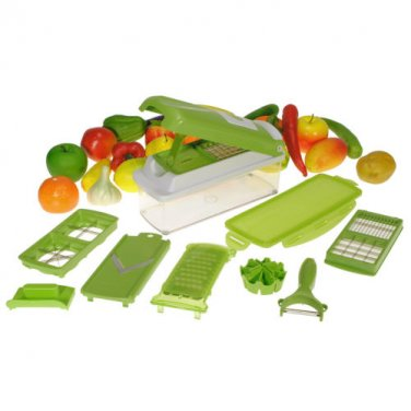 Kitchen Vegetable Fruit Slicers Container Chopper Peeler