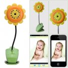 Baby Security Flower Wifi Camera DVR Night Vision Mic Video Monitor