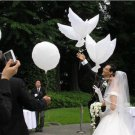 Helium Pigeon Wedding Decoration Eco Flying White Dove Balloon