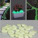 10Pcs Luminous Light Emitting Artificial Pebble Stone