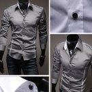 Stylish Men Casual Slim Fitted Dress Shirt