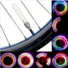 2 PCS 5 LED 8 Flashing Bicycle Valve Light Bike Wheel