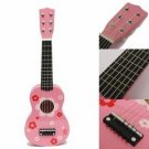 Childrens Acoustic Guitar Ideal Kids Gift Pink