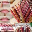 12 Colors Lip Liner Set 15cm Long Lasting Makeup Pencil