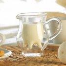 Creative Cup Double Glass Microwaveable Heat Milk Cup