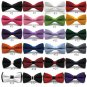Classic Tuxedo Men's Bowtie Adjustable Wedding Party Solid tie