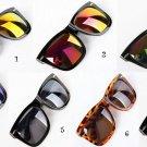 Retro Polarized Lens Rivet Sunglasses Mirrored Glasses For Male Female