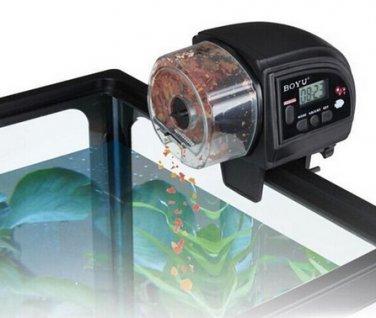 LED Fish Food Feeder Automatic Aquarium Timer For Fish Tank