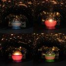 Rotation Star Sky Romantic Room Light Lamp Night Projector