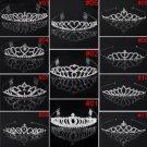 Silver Crystle Wedding Bridal Tiara Alloy Crown Bride Head Band