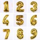 Digital Foil Gold Balloons Party Wedding Decoration Birthday Balloon
