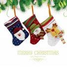 Baby Children Christmas Tree Decoration Stocking Knitted Socks