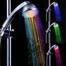Romantic LED Light Automatic Temperature Sensor Bath Shower Head
