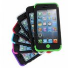 3 in 1 Colorful Heavy Duty Hybrid Rugged Hard Case For iPhone 5C