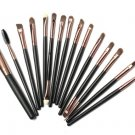 15Pcs Eye Shadow Makeup Cosmetic Foundation Powder Brushes Set