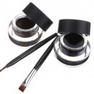 Black Brown Waterproof Eyeliner Cream Gel Eyes Makeup