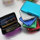 Waterproof Aluminum Metal Business ID Credit Card Wallet Holder case