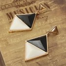 Triangle Geometric Pendant Dangle Earrings