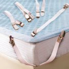 4pcs Bed Sheet Nylon Fasteners Clip Mattress Cover Elastic Grippers