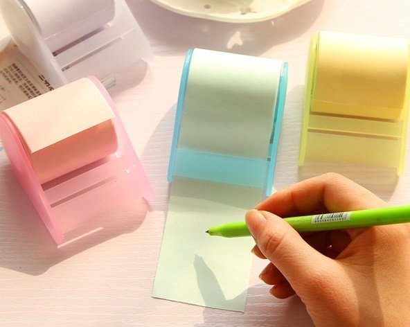 Adhesive Tape Form Coiled Sticky Notes Post-it Note Random