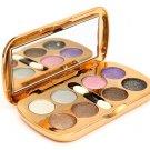 Glitter Eyeshadow Powder Makeup Palette Eye Shadow With Brush Mirror