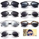Vintage Christian Designer Fashion Retro Sunglasses