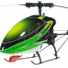 V120D02S 6CH 3D RC Remote Control Helicopter BNF Green