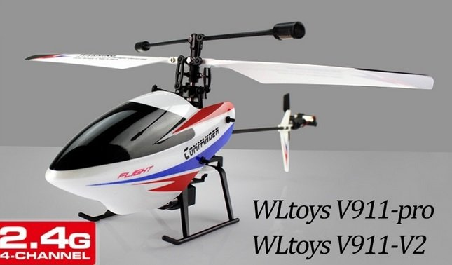 V911-pro V911-V2 2.4G 4CH RC Helicopter