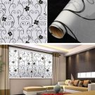 40x100cm Frosted Window Sticker Recyclable Removable Glass Casement Film