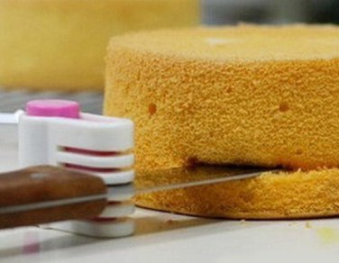 Cake Bread Cutter Leveler 5 Layers Slicer Cutting Fixator Tools