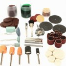 105pcs Carving Burnish Accessories Rotary Tools Accessories Polishing Kits For Dremel