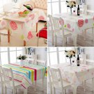 Rectangular Waterproof Tablecloth Cover For kitchen Picnic