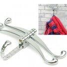 Zinc Alloy Bathroom Dragonfly Wall Hook Clothes Hanger Hat Towel Holder
