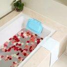 PVC Foam Bath Spa Suction Pillow Neck Support Back Pain Relieve