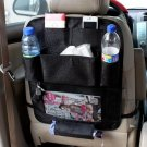 Car Waterproof Seat Back Hanging Storage Bag Organizer Multi-Pocket